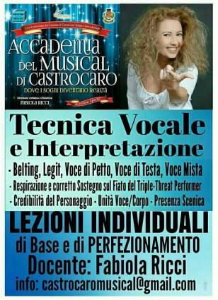 Foto LEZIONI TECNICA VOCALE E INTERPRETAZIONE