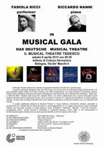 Foto Locandina MUSICAL GALA - Goethe Institut