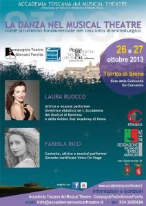 VOLANTINO WORKSHOP LAURA - FABIOLA - OTTOBRE 2013 - FRONTE