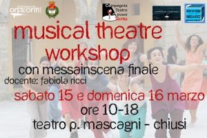 FOTO Workshop CHIUSI - TEATRO MASCAGNI